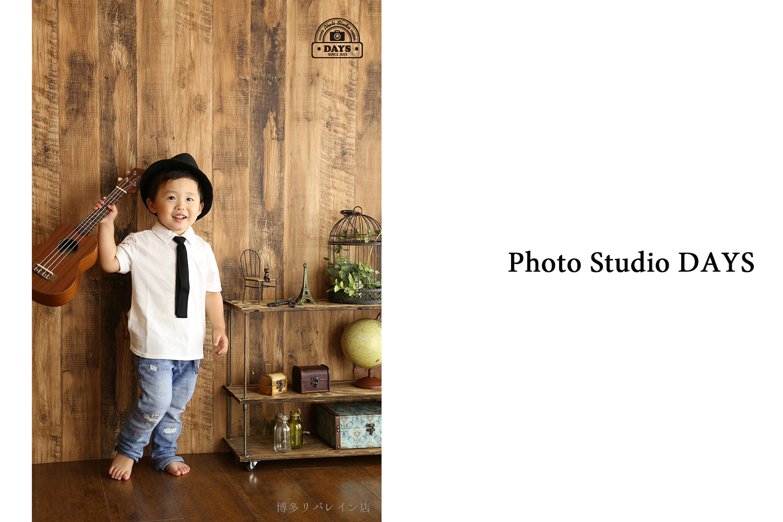 男の子写真